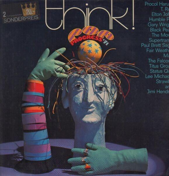 PROCOL HARUM / STRAWBS / SUPERTRAMP A.O. - Think! Pop Progress '71 (FOLDOUT SLEEVE) - LP x 2