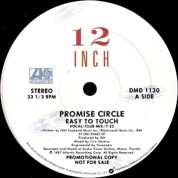 PROMISE CIRCLE - Easy To Touch - Maxi x 1
