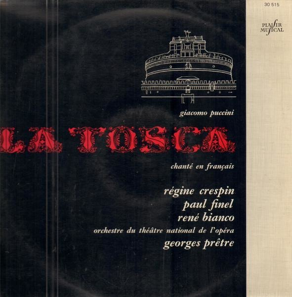 #<Artist:0x00007fd8e16f4f20> - La Tosca Chanté En Francais
