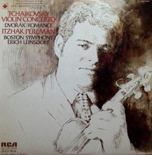 #<Artist:0x0000000007959348> - Violin Concerto In D, Op 35 / Romance In F. Op. 11