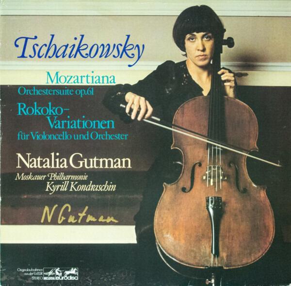 #<Artist:0x00007f5f3c136ee0> - Mozartiana Orchestersuite Op.61 / Rokoko-Variationen Für Violoncello Und Orchester