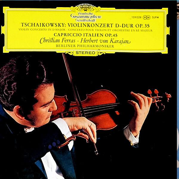 #<Artist:0x00000000083a0a40> - Violinkonzert D-dur Op. 35 / Capriccio Italien Op. 45