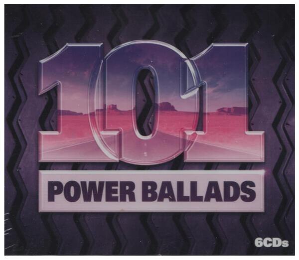 Queen / Nickelback / Anastacia / Tina Turner a.o. 101 Power Ballads (STILL SEALED)