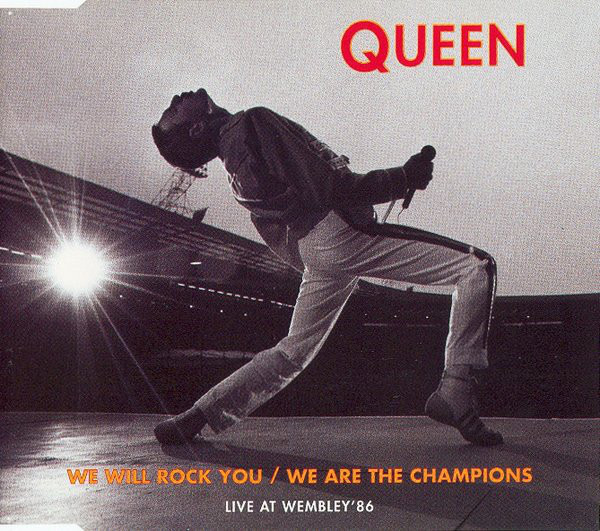 queen we will rock you / we are the champions (live at wembley '86)