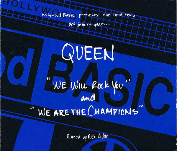 Queen We Will Rock You / We Are The Champions (DIGIPAK)