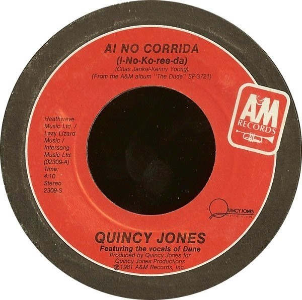 Quincy Jones Ai No Corrida