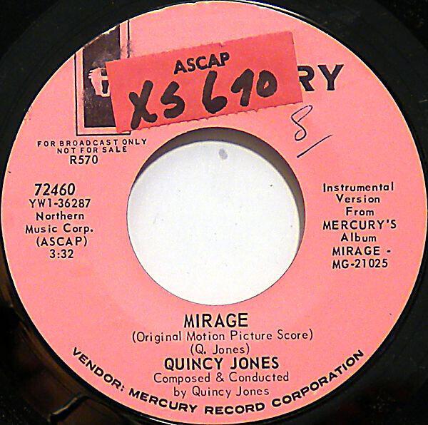 Quincy Jones Mirage (Original Motion Picture Score)