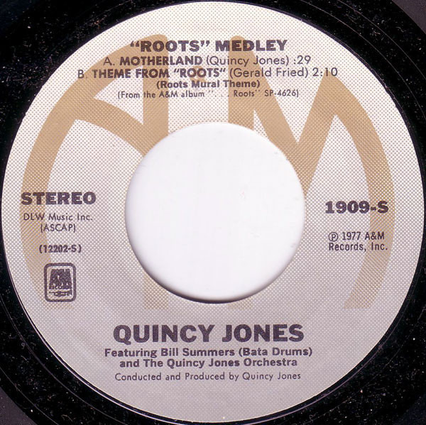 Quincy Jones 'Roots' Medley