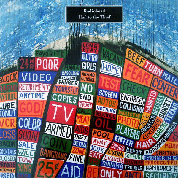 Resultado de imagen de Radiohead - Lp: Hail to the Thief 400 X 400