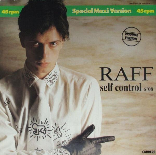 RAF - Self Control (INJECTION LABEL) - Maxi x 1