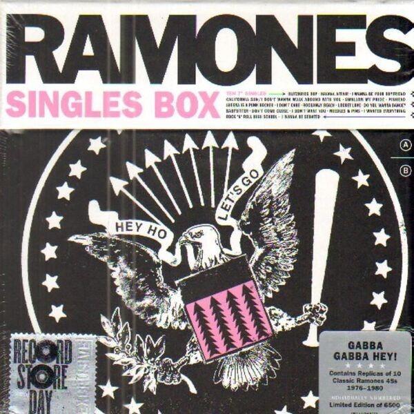 RAMONES - Singles Box (NUMBERED) - 12 inch Box