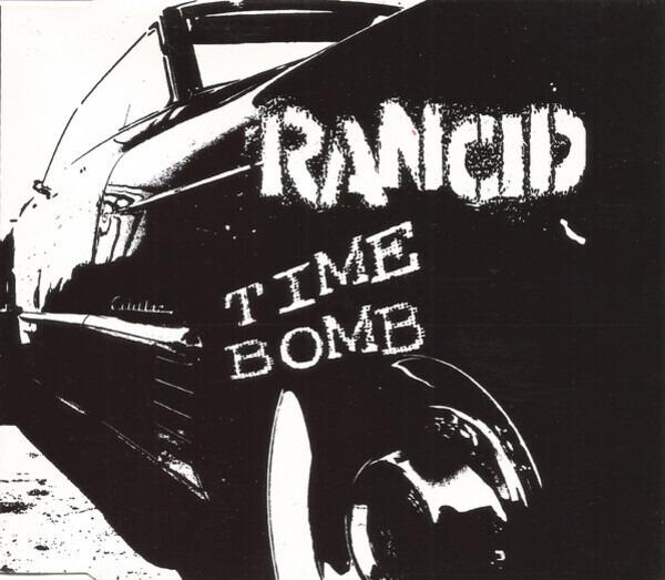 RANCID - Time Bomb - CD single