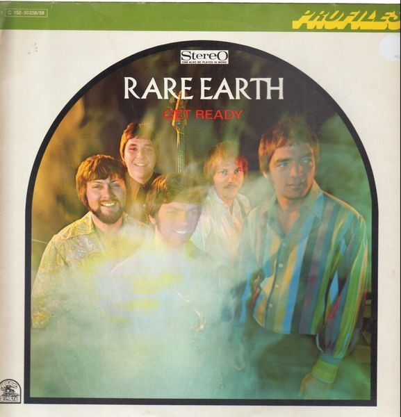 RARE EARTH - Get Ready/Ecology - 33T x 2