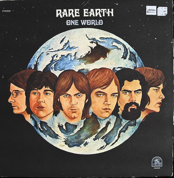RARE EARTH - One World - 33T