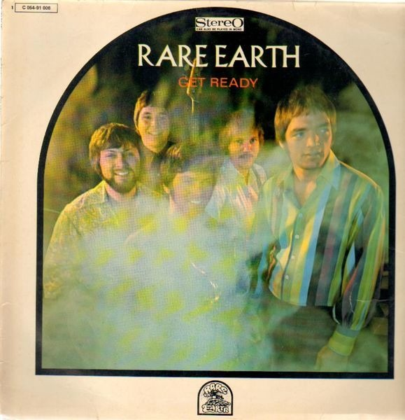 RARE EARTH - Get Ready - 33T