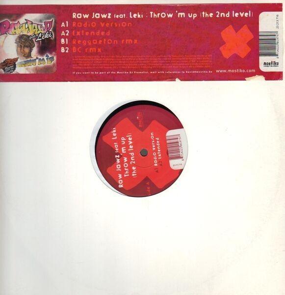 RAW JAWZ FT. LEKI - Throw 'm Up (The 2nd Level) - Maxi x 1