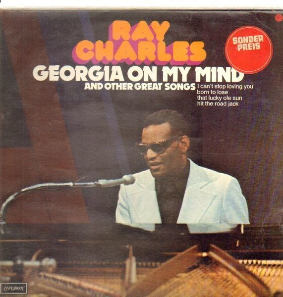 Ray Charles Georgia On My Mind And Other Great Songs