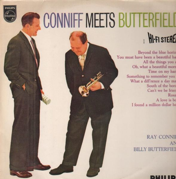#<Artist:0x00007f4dec6335f8> - Conniff Meets Butterfield