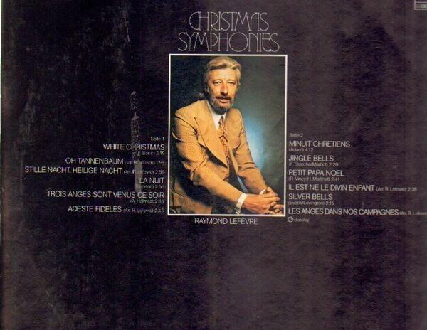 Raymond Lefevre Christmas Symphonies