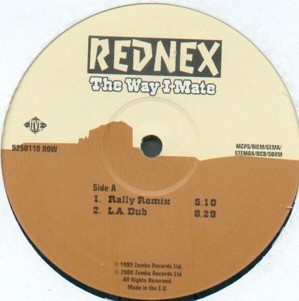 The Way I Mate - Rednex | 12'' | Recordsale