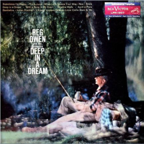 REG OWEN AND HIS ORCHESTRA - Deep In A Dream - LP