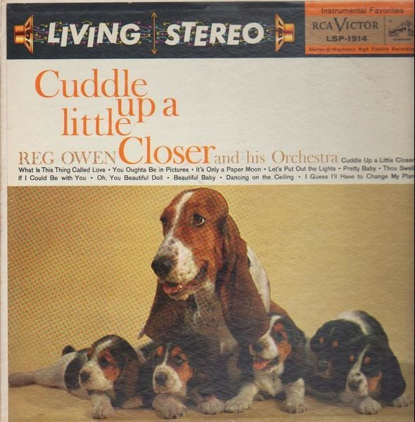 REG OWEN AND HIS ORCHESTRA - Cuddle Up A Little Closer - LP