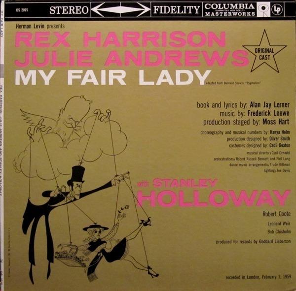 #<Artist:0x00007fcea5e5acb0> - My Fair Lady