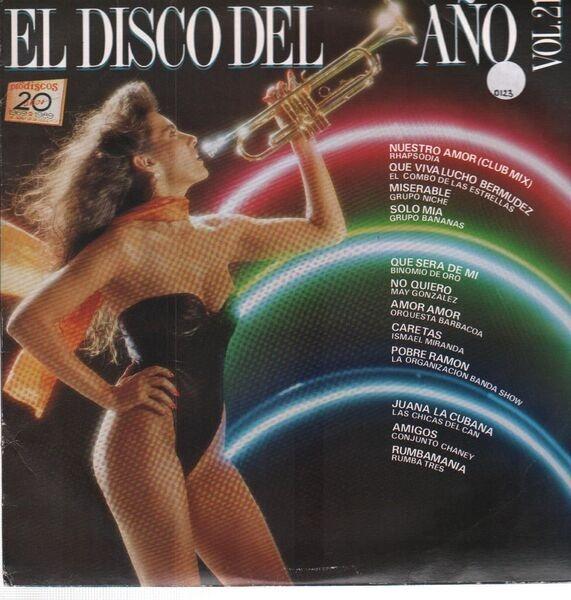 RHAPSODIA, EL COMBO DE LAS ESTRELLAS, GRUPO NICHE, - El Disco Del Ano Vol.21 - LP