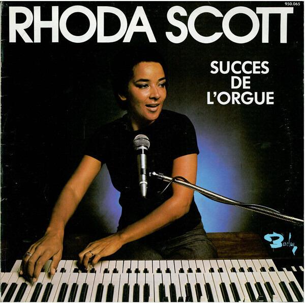 RHODA SCOTT - Succes De L'Orgue - 33T
