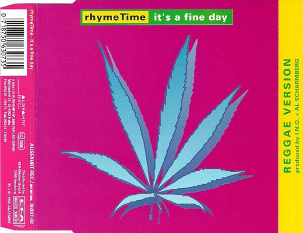 RHYMETIME - It's A Fine Day (Reggae Version) - CD single