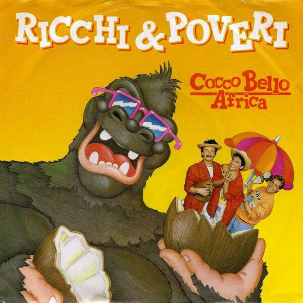Ricchi E Poveri Cocco Bello Africa