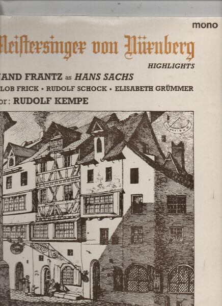#<Artist:0x00007fd91738b538> - Die Meistersinger Von Nürnberg (Highlights)