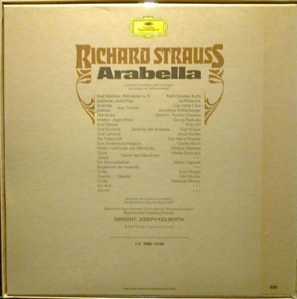 Richard Strauss/ J. Keilberth, A. Rothenberger, Fi Arabella