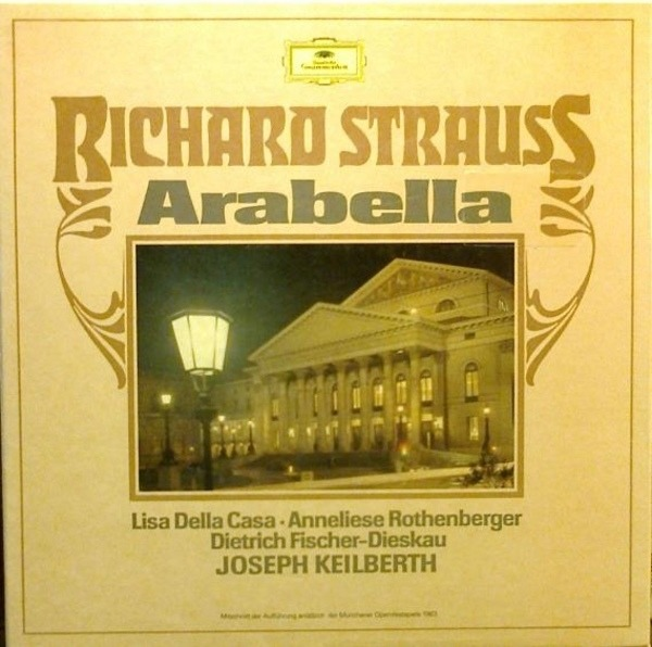 RICHARD STRAUSS/ J. KEILBERTH, A. ROTHENBERGER, FI - Arabella - 33T x 3
