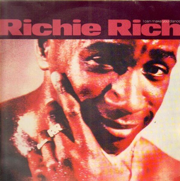 RICHIE RICH - I Can Make You Dance (+ 12') - LP 2枚