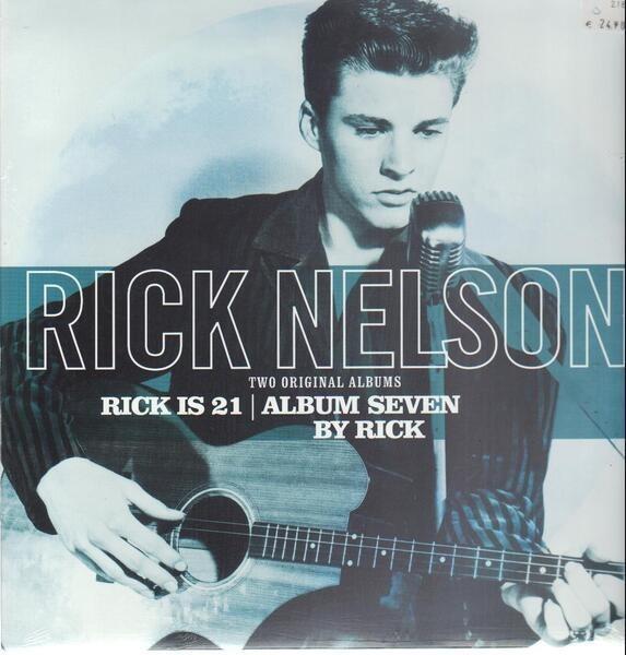 rick nelson rick is 21/album seven by rick (still sealed)