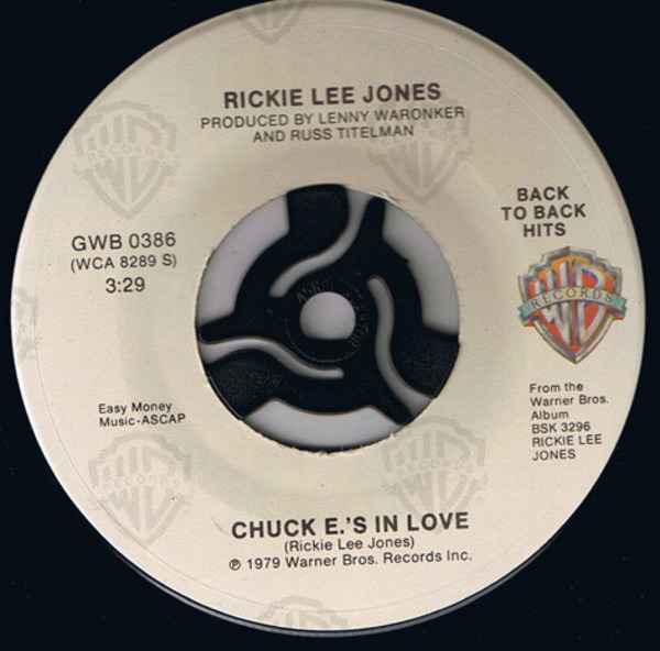 #<Artist:0x007f1f38482908> - Chuck E.'s In Love / Young Blood