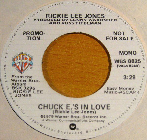 #<Artist:0x00007f8136e6b770> - Chuck E.'s In Love