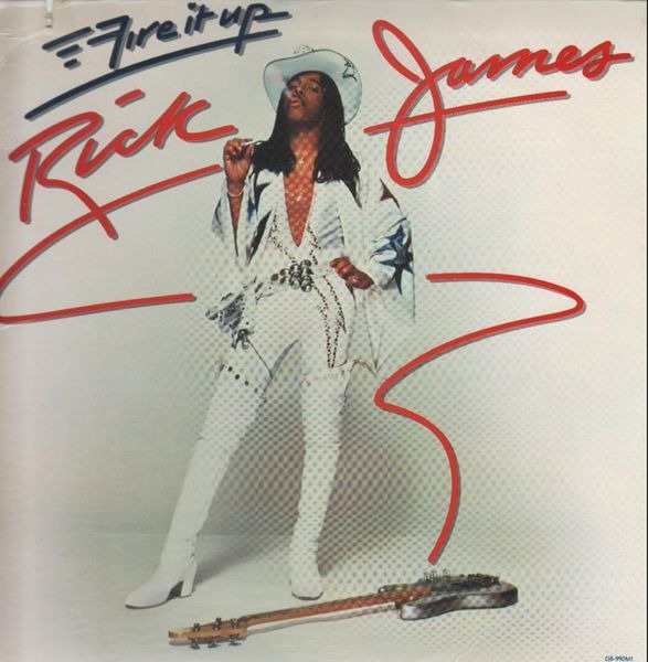 RICK JAMES - Fire It Up - LP
