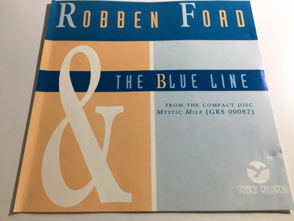 ROBBEN FORD & THE BLUE LINE - 3-Track Cd - CD Maxi