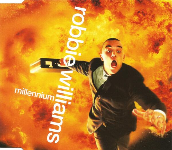 ROBBIE WILLIAMS - Millennium - CD single