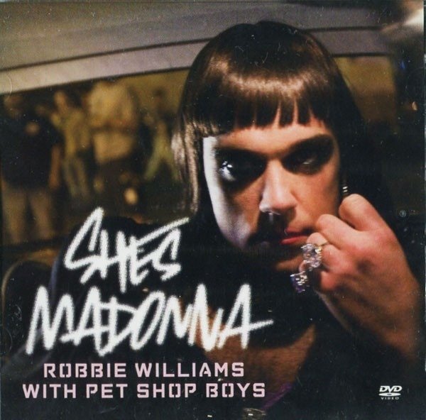 ROBBIE WILLIAMS WITH PET SHOP BOYS - She's Madonna - DVD