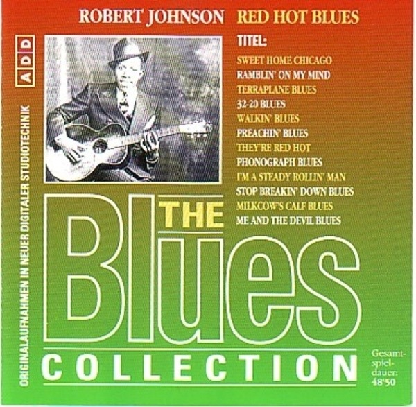#<Artist:0x007f278278b0d0> - The Blues Collection Vol.6: Red Hot Blues