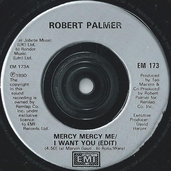 #<Artist:0x007fe334ebf338> - Mercy Mercy Me / I Want You
