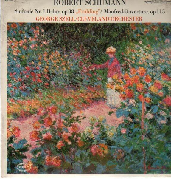 #<Artist:0x007f1ebe966c78> - Sinfonie Nr.1 B-dur / Manfred-Ouvertüre, George Szell, Cleveland