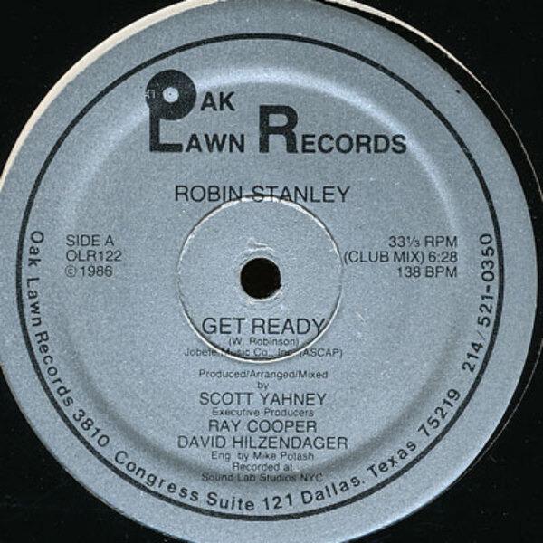 ROBIN STANLEY - Get Ready - Maxi x 1