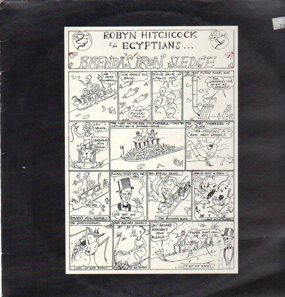 ROBYN HITCHCOCK & THE EGYPTIANS - Brenda's Iron Sledge - 12 inch x 1
