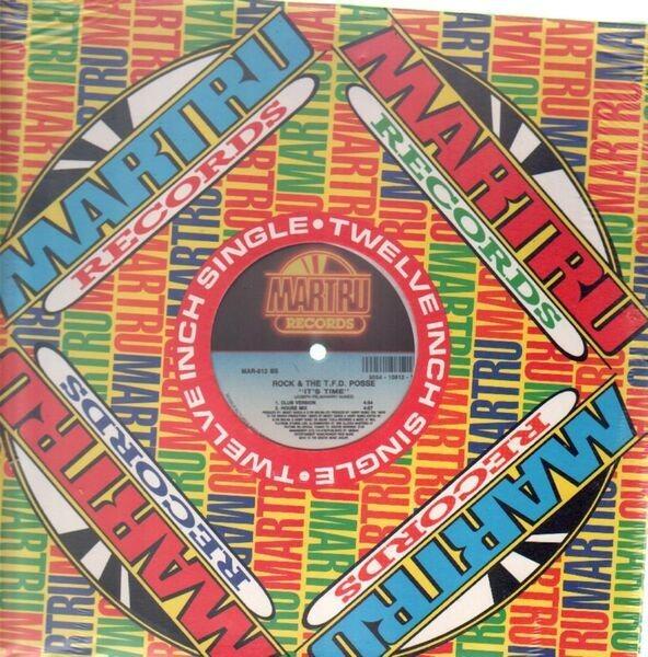 ROCK & THE T.F.D. POSSE - It's Time (STILL SEALED) - 12 inch x 1