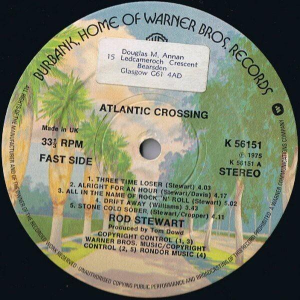 #<Artist:0x007f444ae96250> - Atlantic Crossing