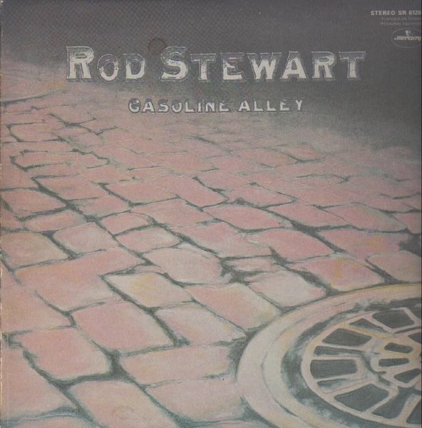 Rod Stewart - Gasoline Alley (embossed Gatefold)